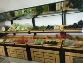 钢木结合水果架22